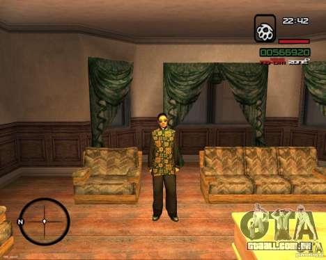Change Skin para GTA San Andreas segunda tela