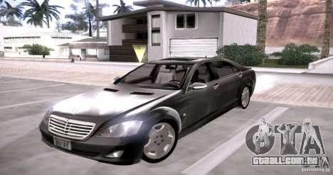 Mercedes-Benz S600 v12 para GTA San Andreas