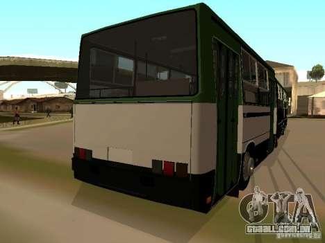 Trailer de IKARUS 280 33 m para GTA San Andreas traseira esquerda vista