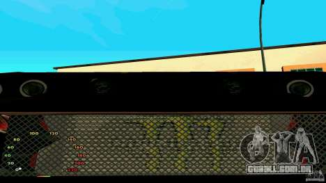 Elegia por fen1x para GTA San Andreas vista traseira