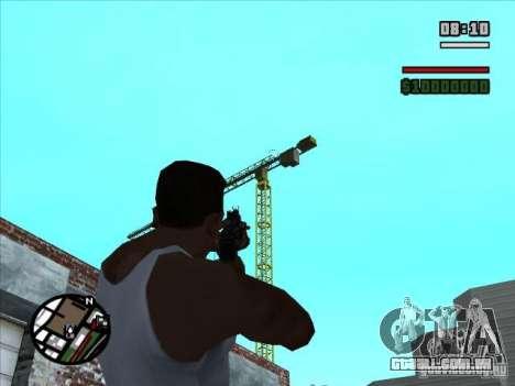 AK-74 (sem estoque) para GTA San Andreas terceira tela