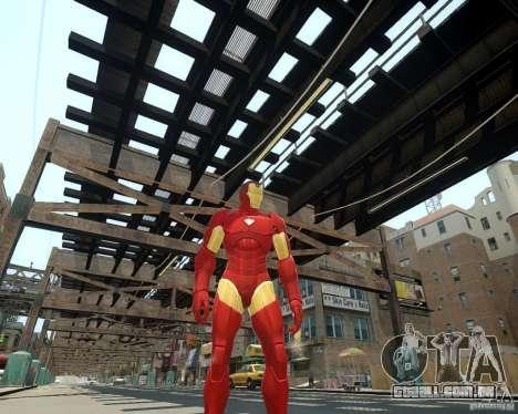 Iron Man Mk3 Suit para GTA 4 por diante tela