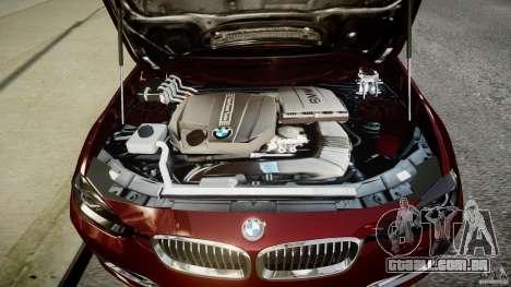 BMW 335i 2013 v1.0 para GTA 4 vista de volta