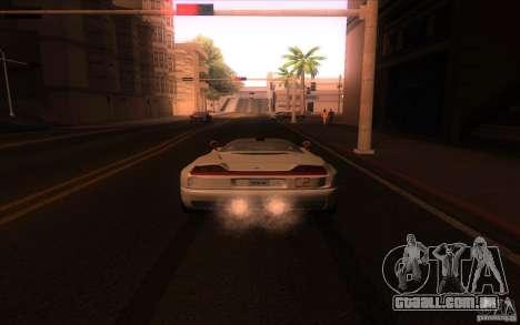 BMW Italdesign Nazca C2 1993 para GTA San Andreas traseira esquerda vista