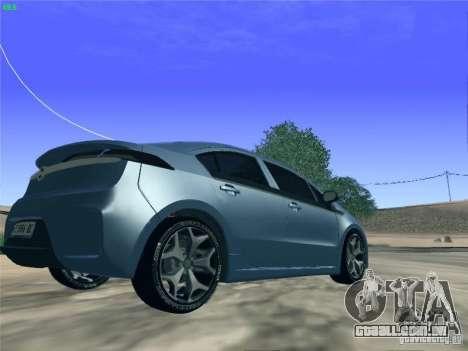 Opel Ampera 2012 para GTA San Andreas esquerda vista