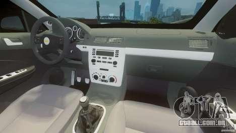 Chevrolet Cobalt SS para GTA 4 vista direita