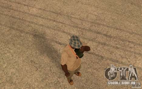 Life para GTA San Andreas por diante tela