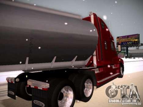Freightliner Cascadia para GTA San Andreas vista direita