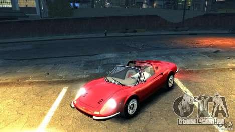 Ferrari Dino 246 GTS para GTA 4