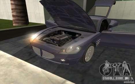F620 de GTA TBoGT para GTA San Andreas traseira esquerda vista