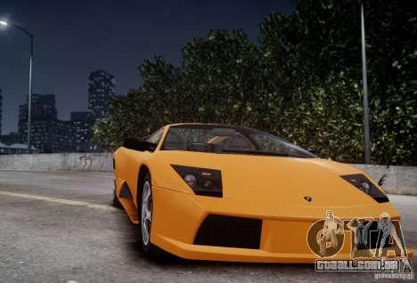 Lamborghini Murcielago para GTA 4 vista de volta