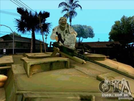 Camuflagem eletrônica Morpeh para GTA San Andreas quinto tela