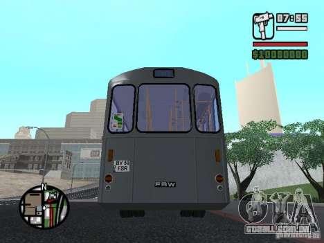 FBW Hess 91U para vista lateral GTA San Andreas