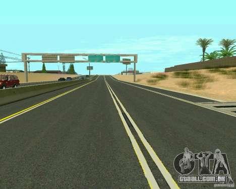 GTA 4 Road Las Venturas para GTA San Andreas oitavo tela