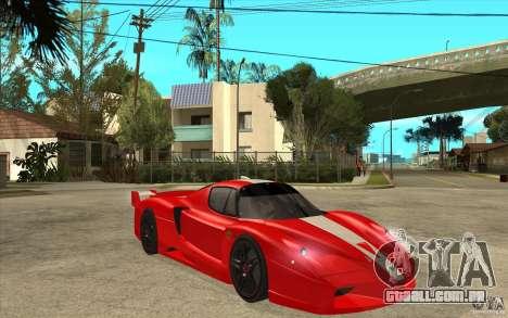 Ferrari FXX 2005 para GTA San Andreas vista interior