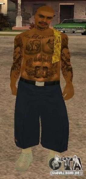 Novas skins gangue de Vagos para GTA San Andreas