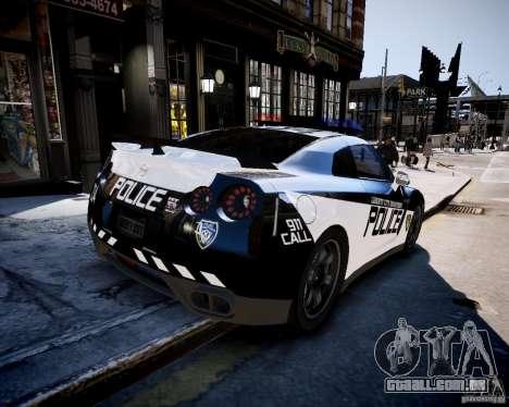 Nissan Spec GT-R Enforcer para GTA 4 esquerda vista