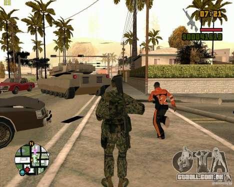Novos soldados para GTA San Andreas terceira tela