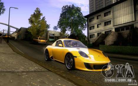 Ruf RK Coupe V1.0 2006 para vista lateral GTA San Andreas