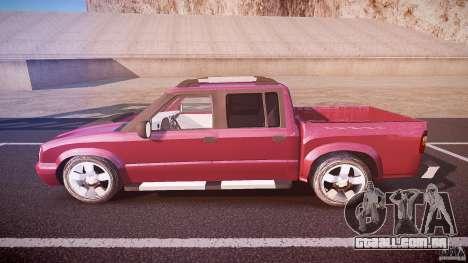 Chevrolet S10 para GTA 4 esquerda vista
