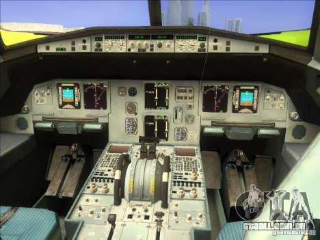 Airbus A-320 S7Airlines para GTA San Andreas vista direita