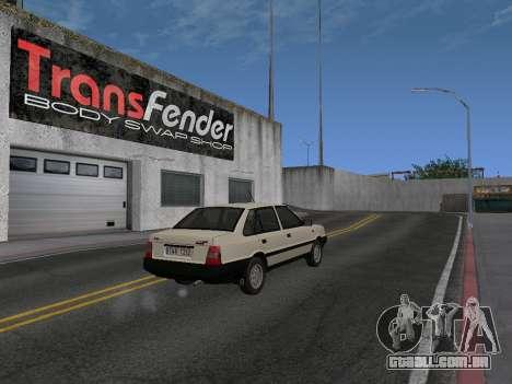 FSO Polonez Atu 1.4 GLI 16v para GTA San Andreas esquerda vista