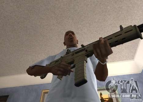 Magpul Masada para GTA San Andreas terceira tela