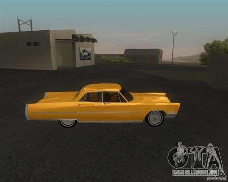 Cadillac Fleetwood Sixty Special 1967 para GTA San Andreas traseira esquerda vista
