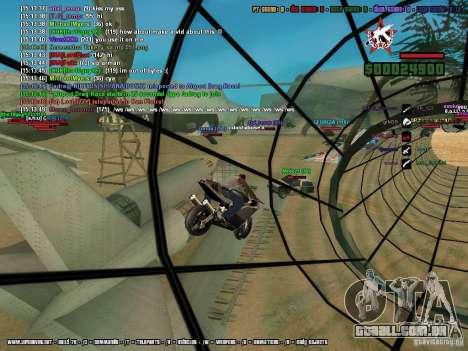 SA:MP 0.3d para GTA San Andreas twelth tela