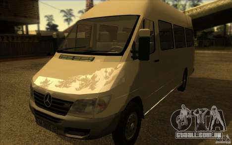Mercedes Benz Sprinter 315 CDI para GTA San Andreas