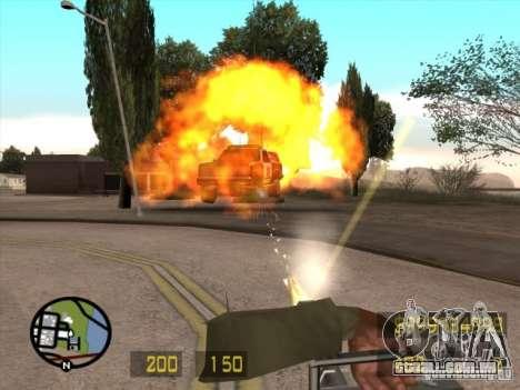 Parecido com o Counter-Strike para GTA San Andre para GTA San Andreas por diante tela
