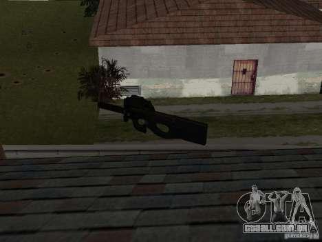 Weapon Pack para GTA San Andreas sexta tela