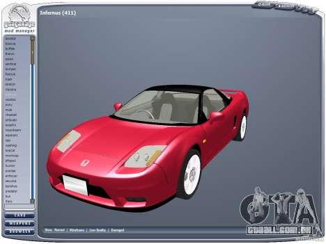 GGMM v2.3 para GTA San Andreas terceira tela