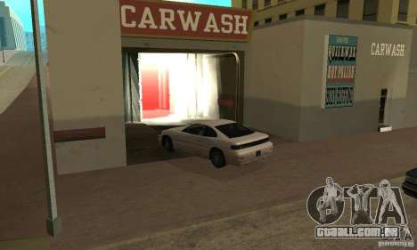Lavagem de carro para GTA San Andreas