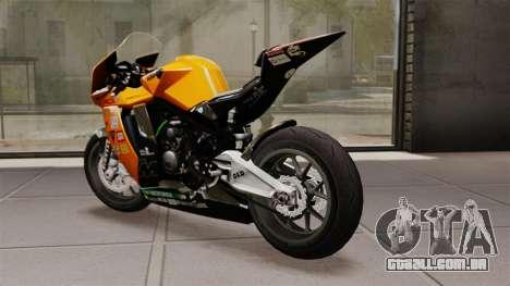 KTM RC8 R para GTA 4 traseira esquerda vista