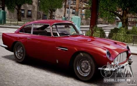 Aston Martin DB5 1964 para GTA 4 motor