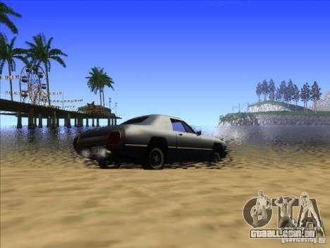 ENBseies v 0.075 para os computadores fracos para GTA San Andreas por diante tela