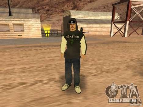 Ken Block Family para GTA San Andreas quinto tela