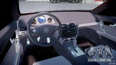 Mercedes-Benz C 280 T-Modell/Estate para GTA 4 vista direita