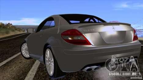 Mercedes-Benz SLK 55 AMG para GTA San Andreas vista direita