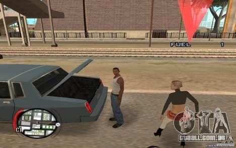 Hide Victim para GTA San Andreas segunda tela