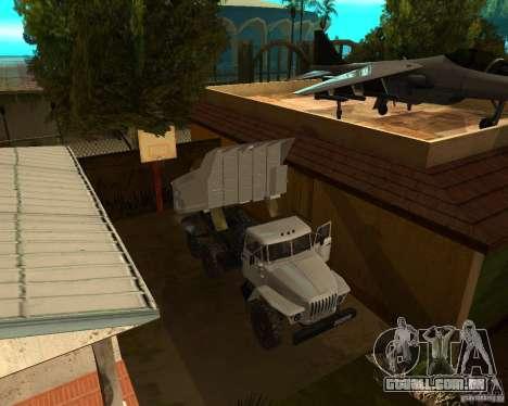 Caminhão de descarga 55571 Ural para GTA San Andreas