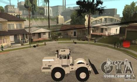 Caminhão do trator de Kirov K701 para GTA San Andreas esquerda vista