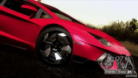 Lamborghini Aventador LP-700 J para GTA San Andreas esquerda vista
