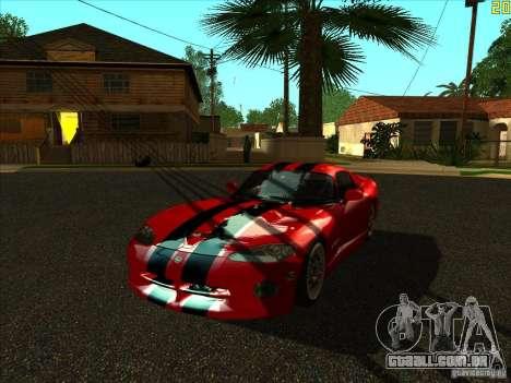 ENBSeries v1.6 para GTA San Andreas por diante tela