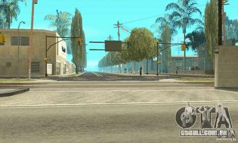Grove Street para GTA San Andreas por diante tela