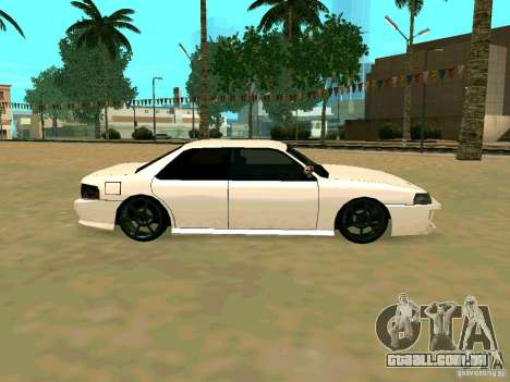 New Sultan v1.0 para vista lateral GTA San Andreas