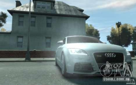 Audi TT-RS para GTA 4 vista de volta