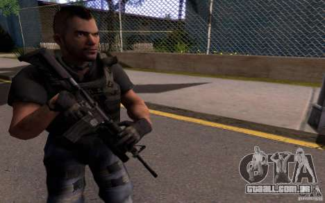 4 um Mctavish (Brasil) para GTA San Andreas