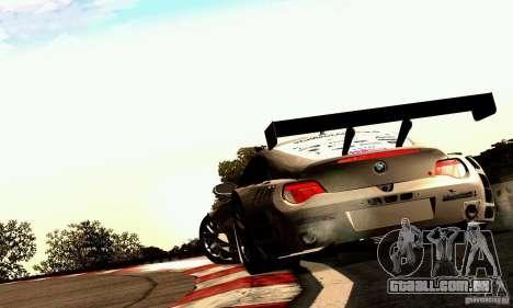 BMW Z4 E85 M GT 2008 V1.0 para GTA San Andreas vista direita